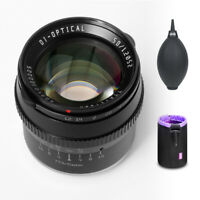 TTartisan 50mm F1.2 Large Aperture Portrait Manual Lens for APS-C Fuji X Mount