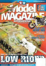 Tamiya Model Magazine #233 Jagdpanzer Kawasaki ZX-10R Salmson 2-A2 French Somua