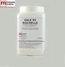 SALZ über ROCHELLE SEL 1 KG Kalium Natrium-tartrat wiederherstellung metalle