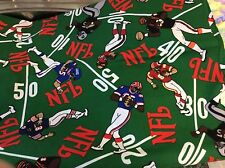 NFL SPORTS # 5069 COTTON FABRIC 58 INCH WIDE    BY THE YARD