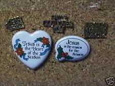 JESUS,CHRISTMAS Lapel pins & Hat Pins or Tie Tacs #5