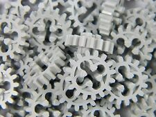 LEGO Technic cogs gears (x 25 pieces) light grey 16 tooth bevel *