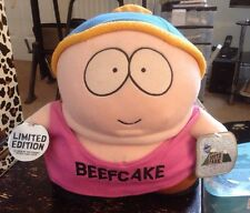 "ERIC CARTMAN BEEFCAKE SOUTH PARK ORIGINAL SOUTHPARK FELT 12"" SOFT TOY 1998"