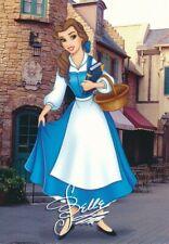 Walt Disney World Signature Series Holofoil Base Card Belle #9