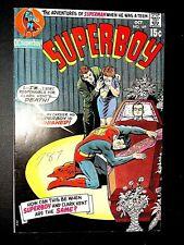 SUPERBOY 169 (DC 10/70 8.0 non-CGC) 15c SILVER-AGE GEM! LUTHOR! LANA LANG!