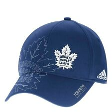 Toronto Maple Leafs Nhl Men's Adidas Fitted Baseball Cap, Navy Blue