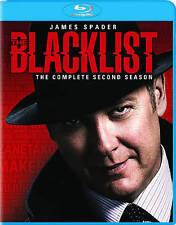 The Blacklist: Season 2 (Blu-ray Disc, 2015, 5-Disc Set)