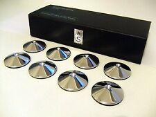Set De 8 audioserenity Cromo Pulido De Alta Fidelidad Spike Zapatos