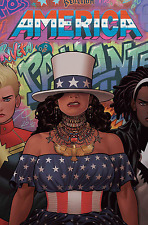 Marvel Comics America #2 Rivera Beyonce Inspire Cover Bagged & Boarded INSTOCK