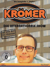 KURT KRÖMER - 3 DVD - DIE INTERNATIONALE SHOW - DIE KOMPLETTE 1.STAFFEL