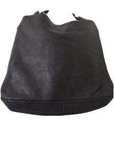 Carla  Mancini  Black  Color Leather Solid Women Large Bag 429892566782