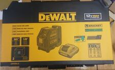 DEWALT DW088LG Self-Leveling Cross Line Green Laser Levelling Leveler w Battery