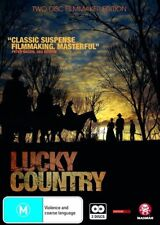Lucky Country (DVD, 2009, 2-Disc Set) Brand New & Sealed Aussie Film D78