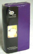 """Teñida unicolor Super King Size púrpura Funda de edredón incluye dos fundas de almohada 20"""" X 36"""""""