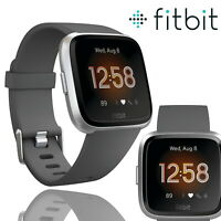 Fitbit Versa Lite Special Edition Fitness Tracker Activity Grey Band Smartwatch.