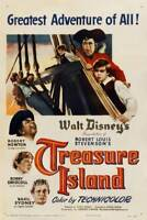 TREASURE ISLAND 27x40 Movie Poster - Licensed | New | USA | Theater Size [B]