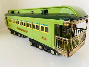 Lionel Standard Scale Tin Plate Green Coral Isle No 426 MTH Minty Vintage USA