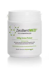 Zeobent MED® Detox-Pulver 400g für 40 Tage, Zeolith + Bentonit