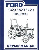 1984 1986 1988 1990 1992 1995 Ford Tractor 1320-1520-1720  Repair Manual