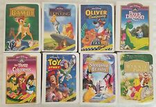WALT DISNEY'S HOME VIDEO MASTERPIECE COLLECTION 1997 COMPLETE SET OF 8