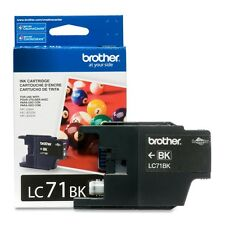 Genuine Brother LC71 Black ink 71 LC71BK J425W J430W J435W J625DW J825DW J835DW