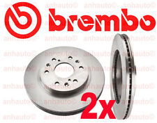Cadillac Escalade Set of 2 Disc Brake Rotors Front Brembo  09.A406.11