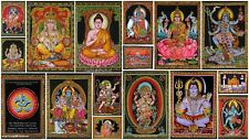 Indian religious wall tapestry God Wall Hanging Ganesh Good Luck Mediation Budda