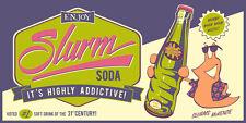 Futurama Slurm Soda Poster Silk Screen Print Steve Thomas NUM #/200 SIGNED + COA