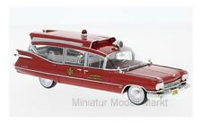 #45262 - Neo Cadillac S&S Superior Ambulance - rot - 1959 - 1:43