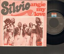 "SILVIO Angie My Love SINGLE 7"" Lucky Man 1976 NEGRAM Dutch 70's NEDERPOP"