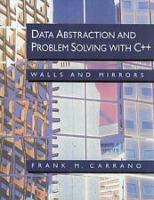 Data Abstraction and Problem Solving With C++: Walls and Mirrors-ExLibrary
