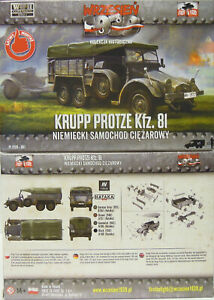 Lights Flakkraftwagen Kfz.81, First to fight , 1/72 Plastic, New