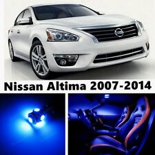 14pcs LED Blue Light Interior Package Kit for Nissan Altima 2007-2014