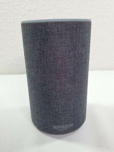 Amazon Echo (2nd Generation) Smart Speaker with Alexa - Charcoal Fabric Unit