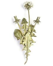Dandelion Brooch Pin By Michael Michaud for Silver Seasons