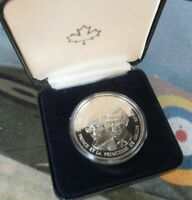 1983 PRINCE CHARLES & DIANA SILVER PROOF COIN FROM THE ROYAL CANADA MINT