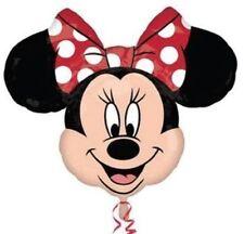 Disney minnie mouse tête feuille hélium ballon fête d'anniversaire décoration de fête