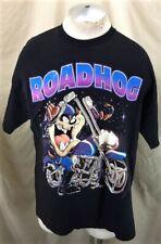 "Vintage 90's Taz Devil ""Road Hog"" (XL) Looney Tunes Graphic Motorcycling T-Shirt"
