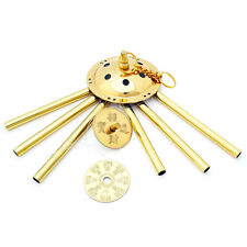 Feng Shui 6-Rods Brass Wind Chime
