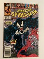 The Amazing Spider-Man #332 Venom Styx and Stone Appearance  Newsstand
