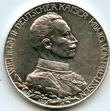 ALLEMAGNE  PRUSSE WILHELM II   ARGENT 1913 A