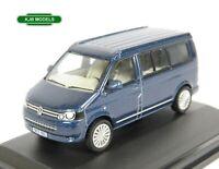 BNIB OO GAUGE OXFORD DIECAST 1:76 76T5C001 VW T5 California Camper Van Blue