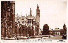 BR80873 king s parade college and senate house cambridge  real photo  uk