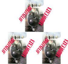 n.3 avvisatore segnalatore di abboccata pesca carpfishing allarme acustico carpa