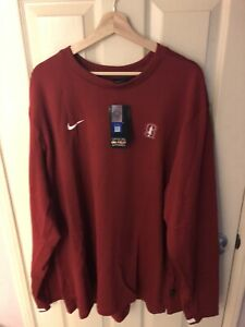 Nike Stanford On-Field 'Fear The Tree' Pullover XXL