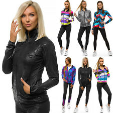 Sportanzug Trainingsanzug Hausanzug Hoodie Hose Sweatshirt Damen OZONEE 14553