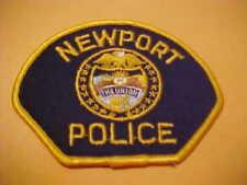 NEW PORT OREGON POLICE PATCH SHOULDER SIZE NEW