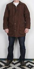 "Country Wax Jacket Coat XL 44"" 46"" Brown (22B)"