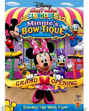 Disney Junior Mickey Mouse Clubhouse Minnie's Bow-tique Kids Minnie Episodes DVD