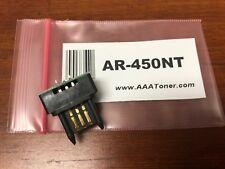 (1) AR-450NT Toner Chip for Sharp AR-M350N, AR-M350U, P350, M450U (450NT) Refill